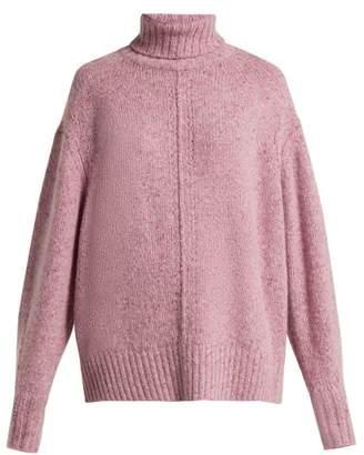 Isabel Marant Harriett Cashmere Sweater - Womens - Light Pink