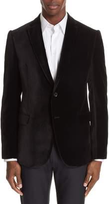 Emporio Armani G-Line Trim Fit Velvet Blazer