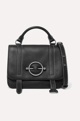 J.W.Anderson Disc Leather Shoulder Bag - Black
