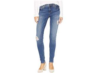 KUT from the Kloth Mia Toothpick Skinny Jeans in Massive