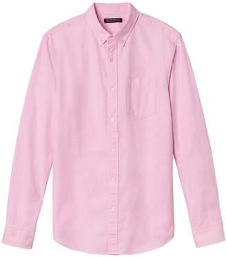 Banana Republic Camden Standard-Fit 100% Cotton Oxford Shirt