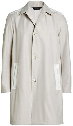 Calvin Klein Collection Coat with Wool