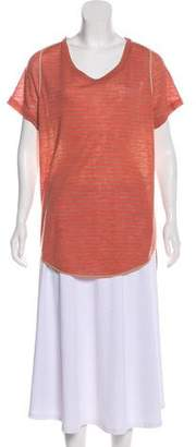 3.1 Phillip Lim Asymmetrical Short Sleeve Top
