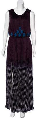 Vineet Bahl Geometric Ombré Dress w/ Tags