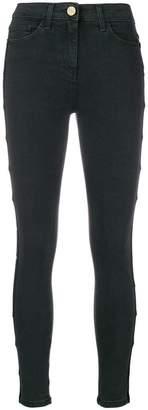 Elisabetta Franchi side band skinny jeans