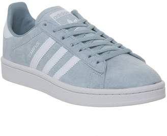 adidas Campus Trainers Ash Grey White