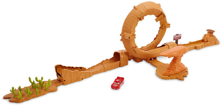 Cars 3 Willy's Butte Transforming Track Set by Mattel