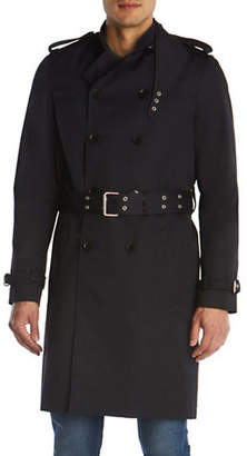 The Kooples Belted Trench Coat