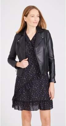 J.Mclaughlin Tanner Leather Jacket