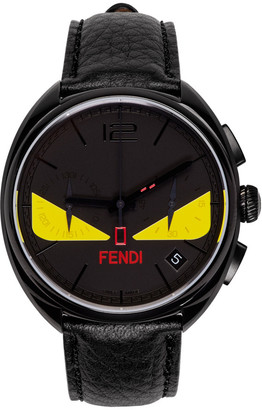 Fendi Black Momento Bugs Watch $1,495 thestylecure.com