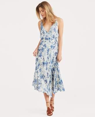Ralph Lauren Floral Silk Wrap Dress