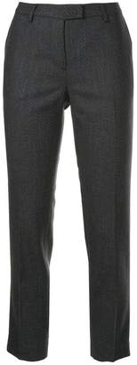 Incotex cropped suit trousers