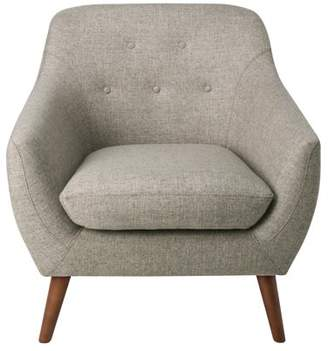 HomePop Monroe Modern Tufted Accent Chair, Multiple Colors