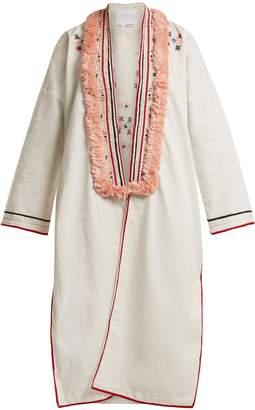 Binetti LOVE Embroidered cotton cover-up