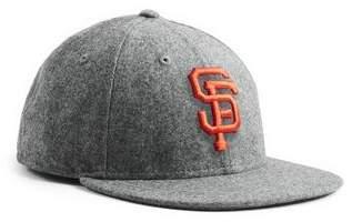 Todd Snyder + New Era Exclusive New Era SF Giants Hat In Italian Barberis Light Grey Wool