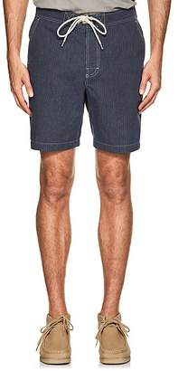 N. Max 'n Chester MAX 'N CHESTER MEN'S SPENCER STRIPED COTTON SHORTS
