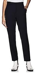 Calvin Klein Women's Side-Striped Wool Twill Ankle Pants - Navy
