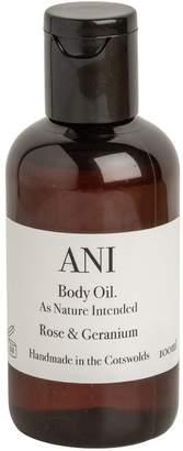 Ani Skincare - Rose & Geranium Body Oil