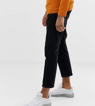 Another Influence pleated loose cropped chinos