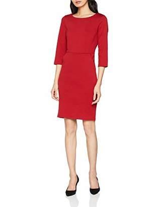 Ichi Women's Kate Slim DR Dress, (Red Dahlia 258)