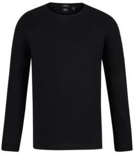 BOSS Hugo Cotton T-Shirt Terell M Black