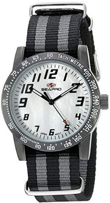 Seapro Women's SP5210NBK Analog Display Quartz Two Tone Watch