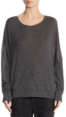 Vince Dropped Shoulder Wool Sweater