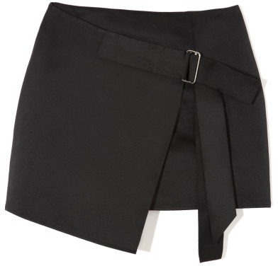 Opening Ceremony Preorder Petrel Wrap Skirt In Black