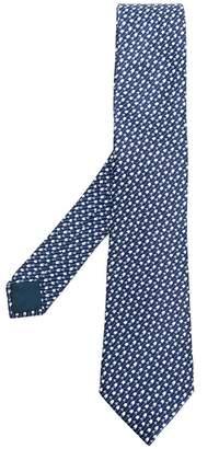 Lanvin arrow pattern printed tie