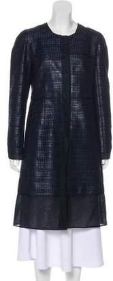 J. Mendel Tweed Knee-Length Coat