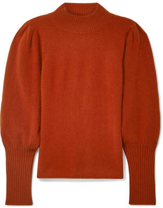 Sea Cailyn Cashmere Turtleneck Sweater - Brick