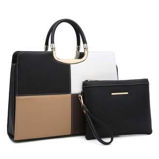 9f2aa3bad119 Dasein Women s Handbags and Purses Ladies Designer Tote Shoulder Bags  Satchel Top Handle Work Bags Briefcase