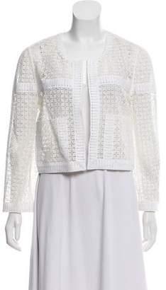 Chloé Crochet Open Front Cardigan