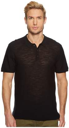 7 For All Mankind Short Sleeve Sweater Polo Men's Sweater