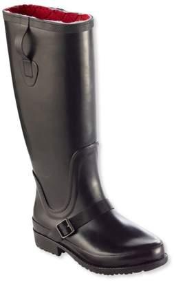 L.L. Bean L.L.Bean Women's Insulated Wellie Rain Boots, Tall