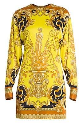 Versace Women's Femme Baroque Jersey Shift Dress