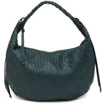 Christopher Kon Woven Leather Hobo Bag