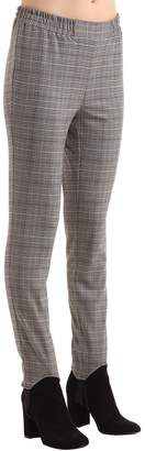 Designers Remix Mahdi Stirrup Check Slim Viscose Pants