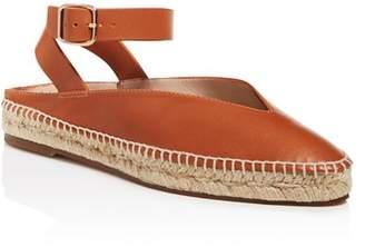 Stuart Weitzman Women's Toga Espadrille Ankle Strap Flats