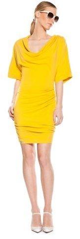 Lacoste + Malandrino Drape Dress