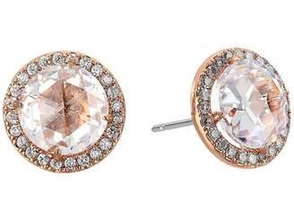 Kate Spade Bright Ideas Pave Halo Stud Earrings