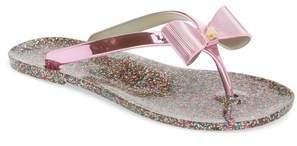 Kate Spade New York Follie Glitter Flip Flop