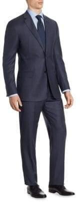 Armani Collezioni Plaid G Line Suit