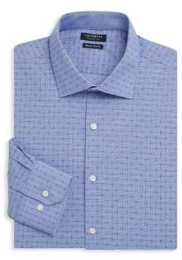 Tailorbyrd Belton Trim-Fit Cotton Dress Shirt
