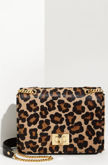 Emilio Pucci 'Leopard Print - Medium' Flap Bag