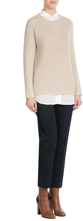 DKNY DKNY Pullover with Alpaca and Wool