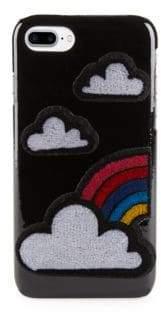 Les Petits Joueurs Cloud iPhone 7 Patent Leather Case