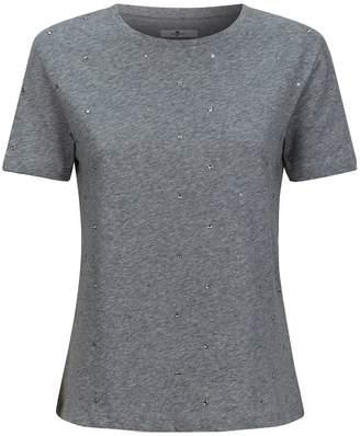 7 For All Mankind Embellished T-Shirt