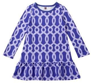 Tea Collection Macha Ruffle Dress (Toddler, Little Girls, & Big Girls)