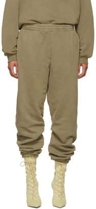 Yeezy Brown Shrunken Sweatpants